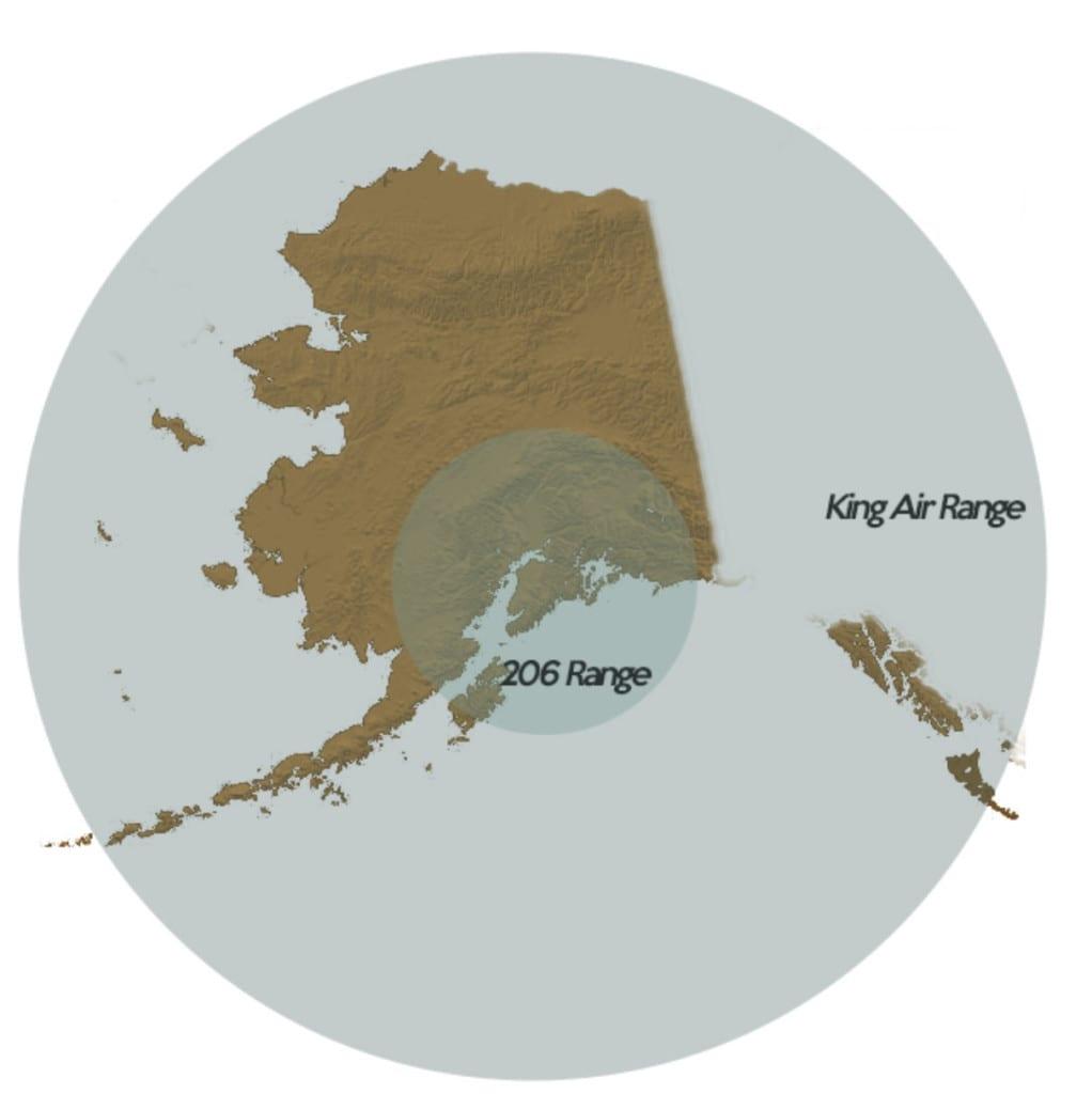 Alaska service area